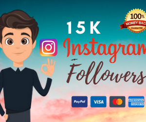 15000 instagram followers