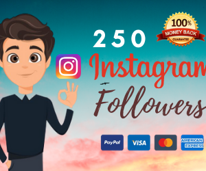 buy 250 instagram followers uk