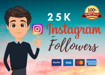 buy 25000 instagram followers